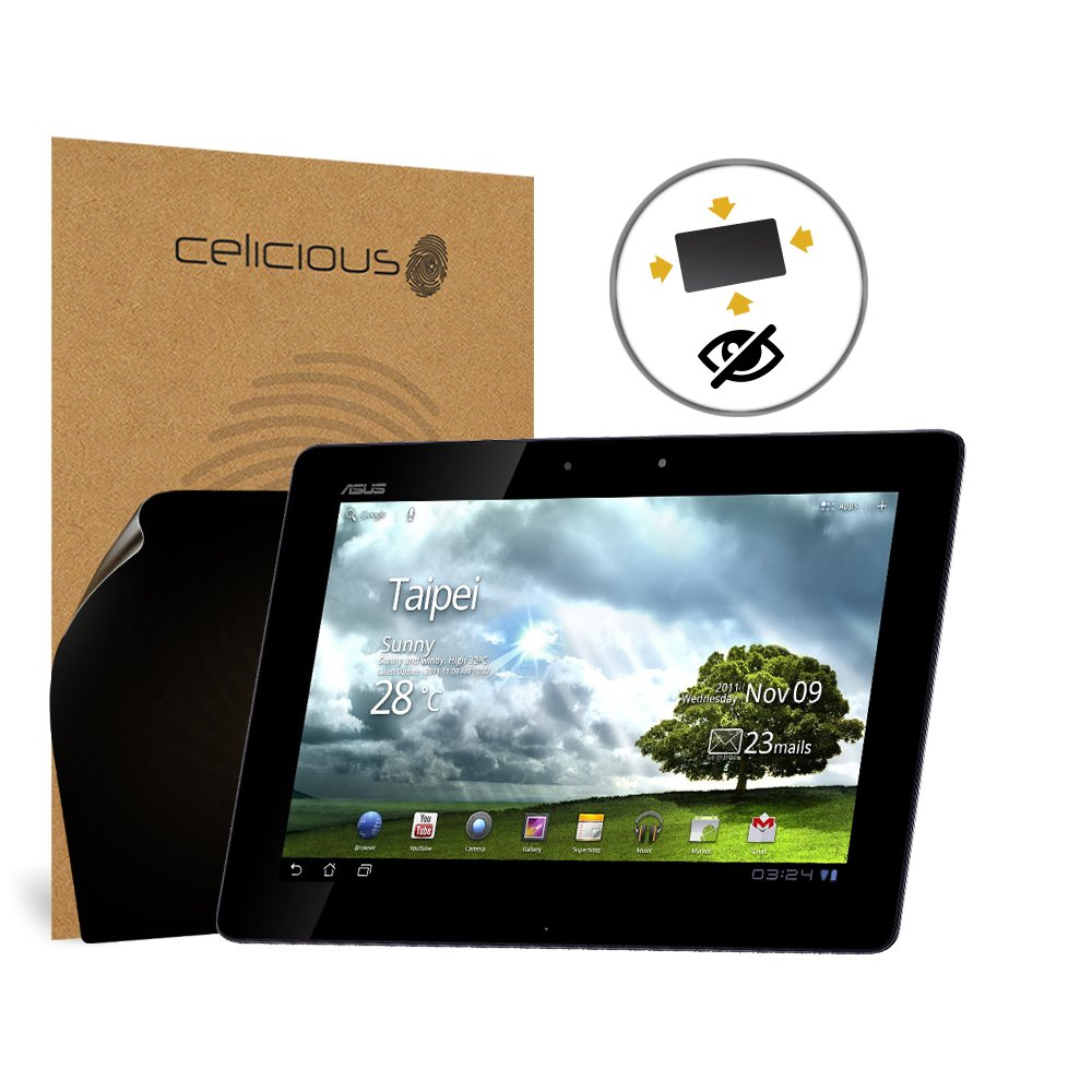 Celicious Privacy Plus 4-Way Anti-Spy Filter Screen Protector Film Compatible with Asus Eee Pad Transformer Prime TF201