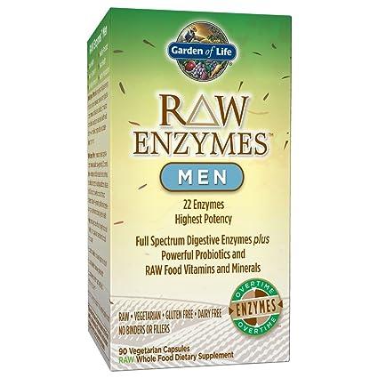 Garden of Life RAW Enzymes(TM) Men, 90 Capsules: Amazon.es ...