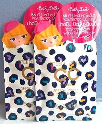 Karmart Cathy Doll Speed White Cc Cream SPF 50+ Pa+++ 6 G X12 Pcs. No.1 Light Thai