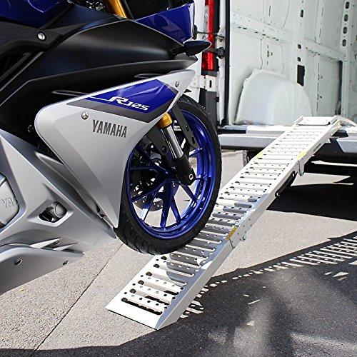 Sport 1200 plegable 300 kg por Moto Morini 9 1 Granpasso 1200 Scrambler max Corsaro//Avio//Veloce// 1200 ConStands rampa de carga acero