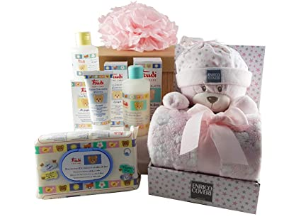 4ab10ddb3a Idea Regalo Nascita Baby Shower Trudi Kit Fai da te (Rosa KB5800CV.):  Amazon.it: Bellezza