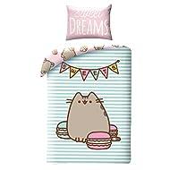 a9773669a978b Halantex Pusheen The Cat Bed Linen Set 140 x 200 cm Single Duvet Cover Set  With