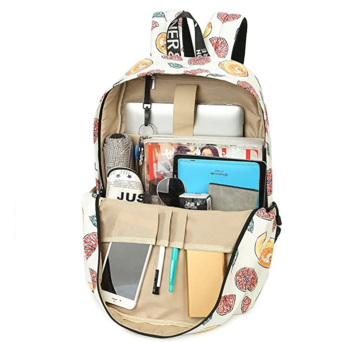 Amazon.com: SJMMBB Printed schoolbag double shoulder bag for female casual pack,Small,40X30X13CM: Home & Kitchen