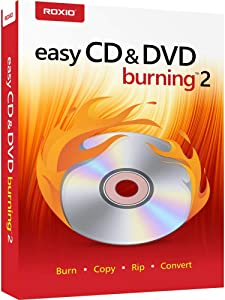 Roxio Easy CD & DVD Burning 2 | Disc Burner & Video Capture [PC Disc]