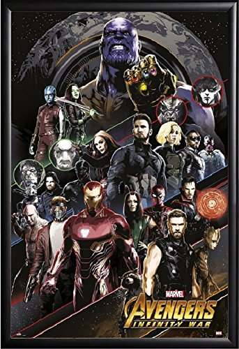 Avengers Infinity War Movie Poster Framed  US Version