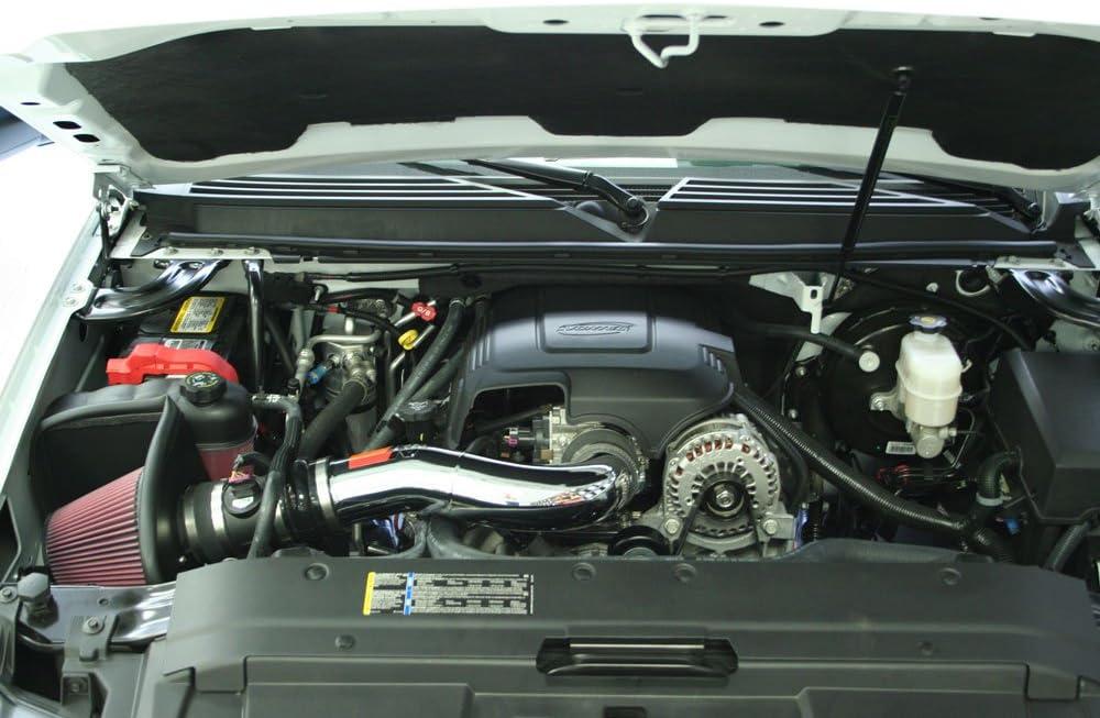 V8,57-3058 K/&N Cold Air Intake Kit: High Performance Guaranteed to Increase Horsepower:  2007-2008 Chevy//GMC//Cadillac Silverado 1500, Suburban, Tahoe, Avalanche, Sierra 1500//Denali, Yukon, Escalade