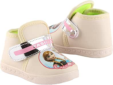 Girls Leather Casual Sneakers