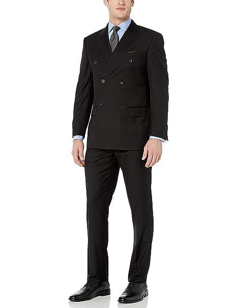 Amazon.com: Adam Baker para hombre modern fit doble ...