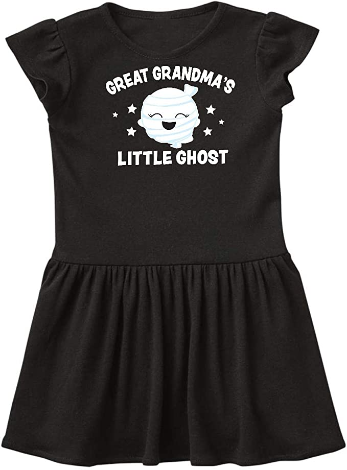 inktastic Cute Great Grandmas Little Ghost with Stars Baby T-Shirt