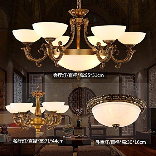 Lampadari Classici Per Soggiorno.Completo Di Illuminazione Pacchetto Rame Lampadari Classici