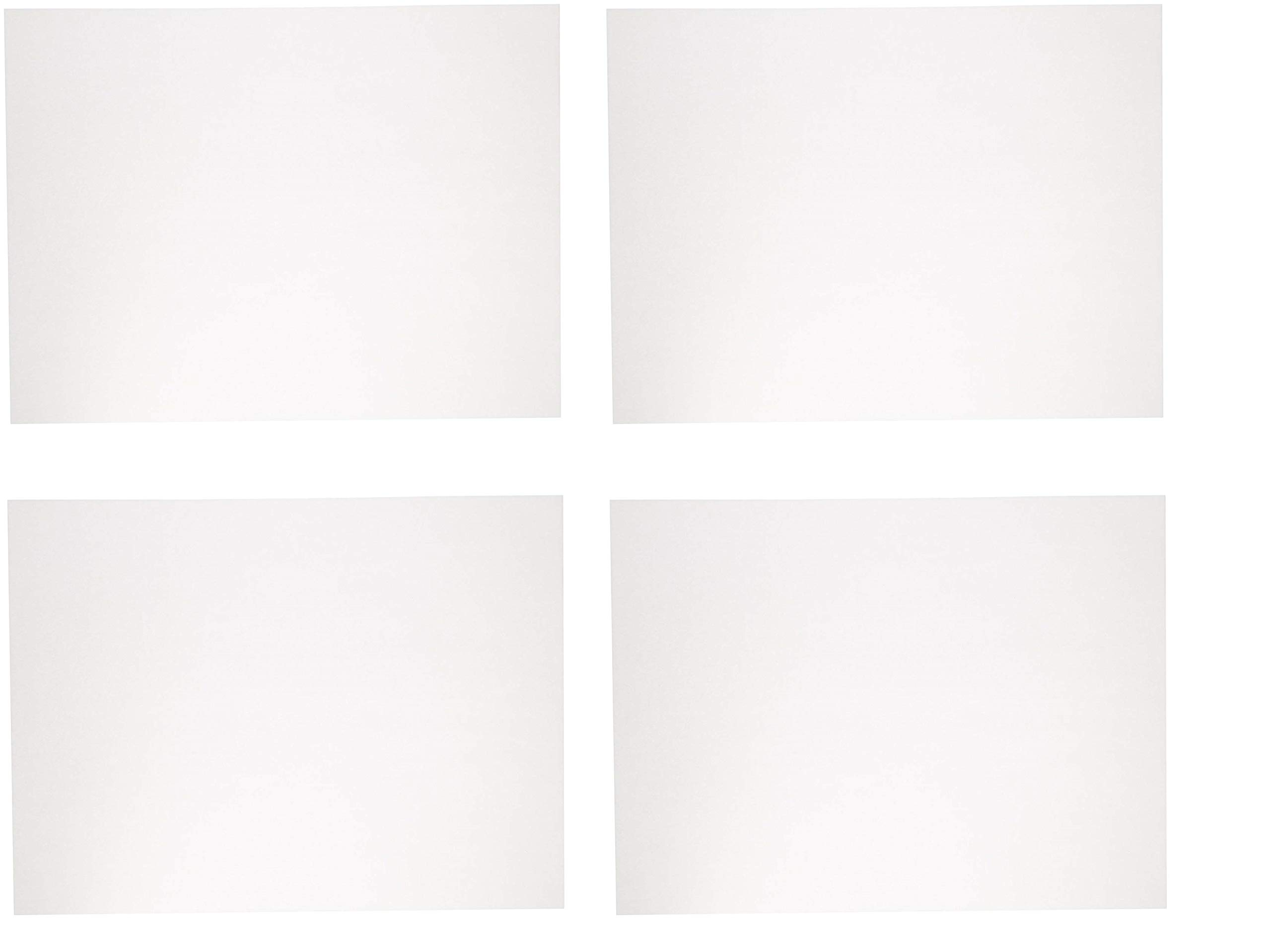 Sax Sulphite Drawing Paper, 60 lb, 18 x 24 Inches, Extra-White, Pack of 500 (4 X Pack of 500)
