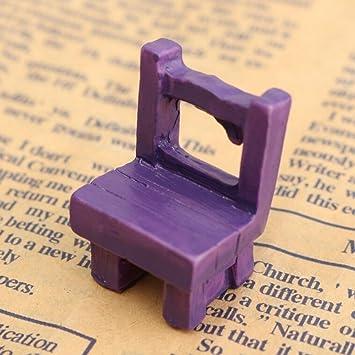 jXY chaises de salon de jardin jardinage en miniature: Amazon.fr ...