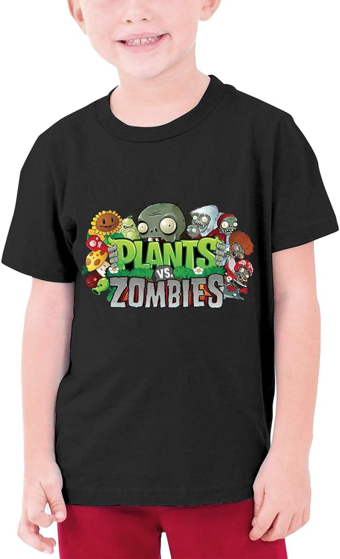 AHHACHI Custom Unisex Plants vs Zombies Youth Tee Shirt for Boy Girl