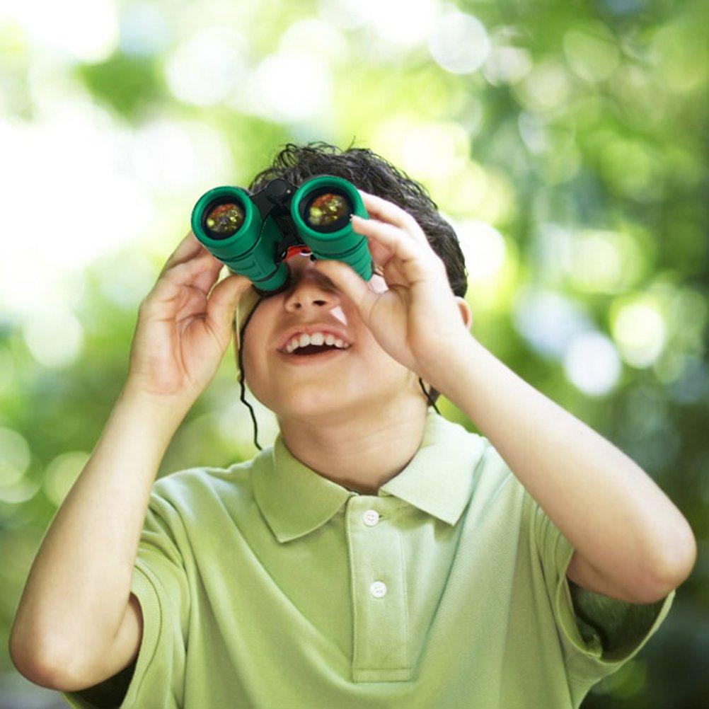 Joy-Jam Binoculares de Juguete al Aire Libre para Ni/ños Juguetes para Ni/ños DE 4-6 a/ños Regalos para Ni/ñas DE 3-6 a/ños Amarillo Regalos de Cumpleanos Navidad