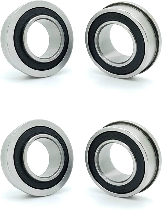 """Wh Applicable Lawn Mower XiKe 10 Pcs Flanged Ball Bearings ID 3//4/"""" x OD 1-3//8/"""""""