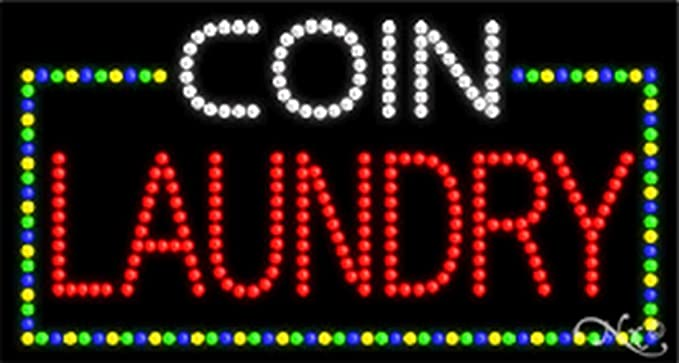 COIN LAUNDRY High Impact eye catching LED SIGN