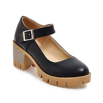 A&N Dgu00342, Sandales Compensées Femme