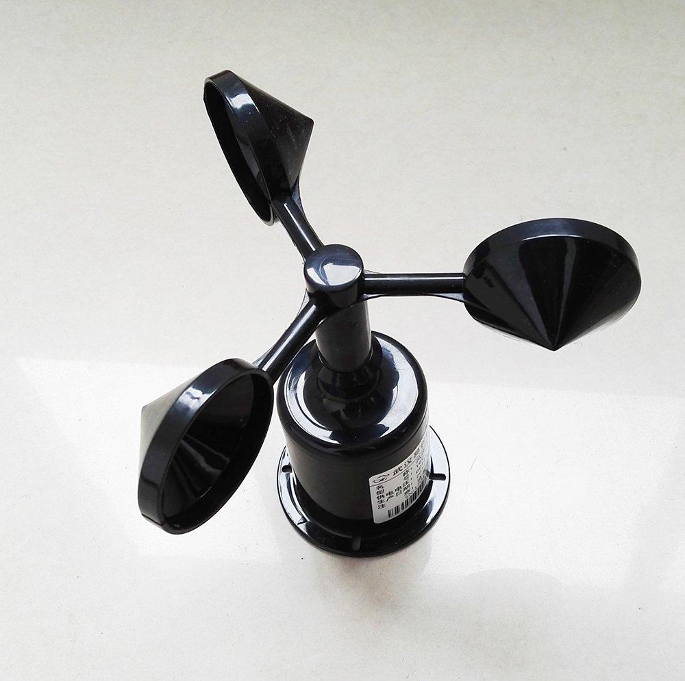 3 Cups Wind Speed Sensor Anemometer 5V 0-5V Analog Output by Calt