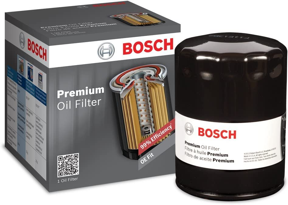 Premium FILTECH Oil Filter for Select Audi, Ford, Lexus, Lincoln, Volkswagen
