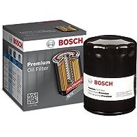 Bosch 3300 Premium Filtech Filtro de aceite, filtro de maíz , Negro