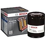 Bosch 3300 Filtech - Filtro de aceite para Chevrolet, Honda, Infiniti, Kia, Mazda, Nissan + más, color negro