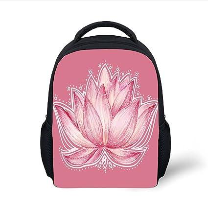 75bf635cbb29 Amazon.com  iPrint Kids School Backpack Floral