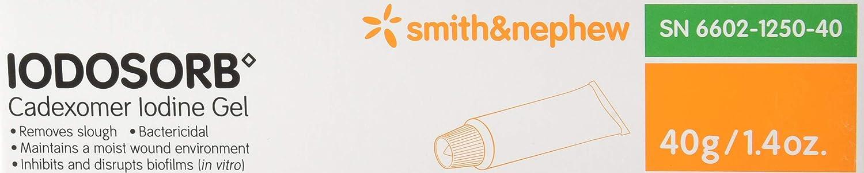 Amazon.com: Smith y Nephew Gel Iodosorb tubo, 1.41 onzas ...