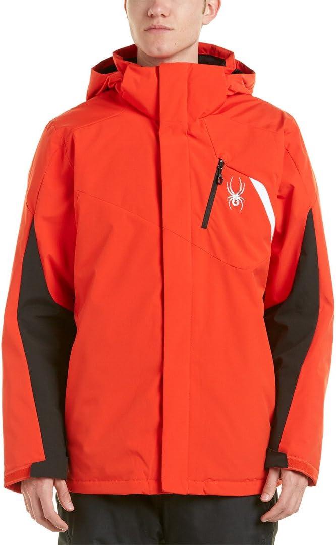 Volcano Red Spyder Protect Mens Ski Jacket
