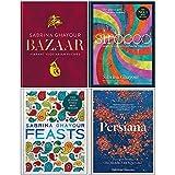 Books : Sabrina Ghayour Collection 4 Books Set (Bazaar, Sirocco, Feasts, Persiana)