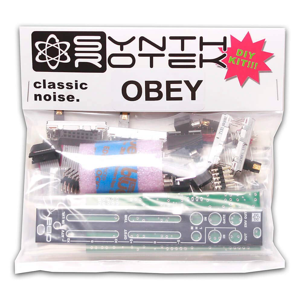 Synthrotek OBEY DIY Kit - Envelope Follower Eurorack Module Kit by Synthrotek