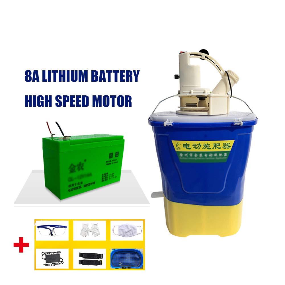 1 Spreader Electric Fertilizer Applicator Used For Sowing Fertilizing Sprinkling Seeds High Power 20L large capacity
