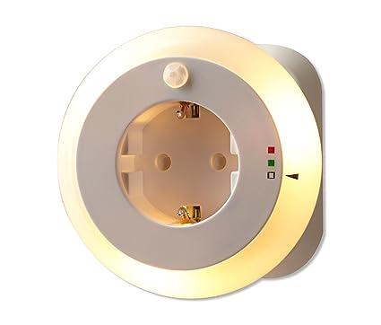 TCM Tchibo - Luz nocturna LED (con sensor de movimiento integrado)