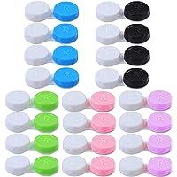 Jinlaili 20 stuks contactlenzenhouder, beschermhoes voor contactlenzen en geïntegreerde spiegel, contactlenzen…