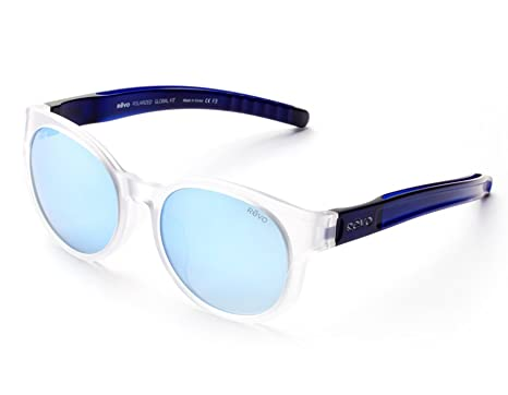 77526fe01814 Amazon.com  Revo Trinity 6009-09 GF BL Matte Semi Crystal   Blue ...