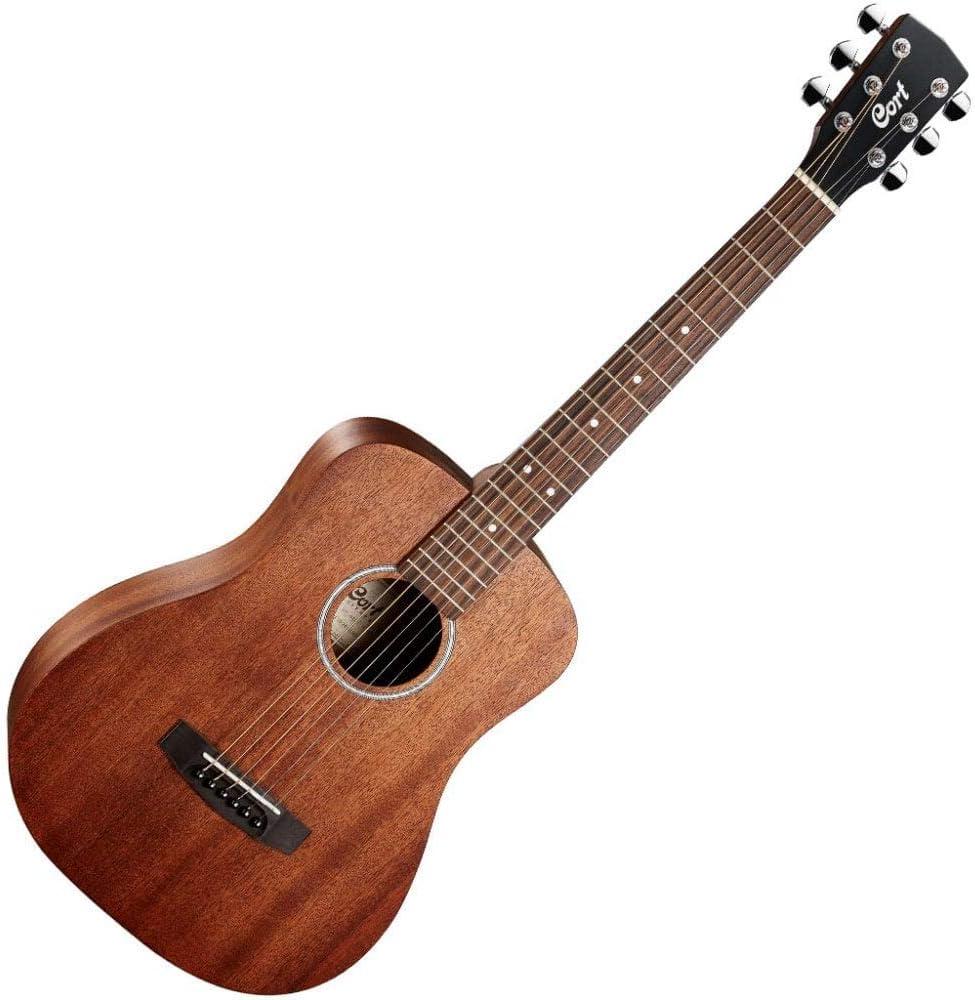 Cort AD Mini M - Guitarra de viaje (madera de caoba): Amazon.es: Instrumentos musicales