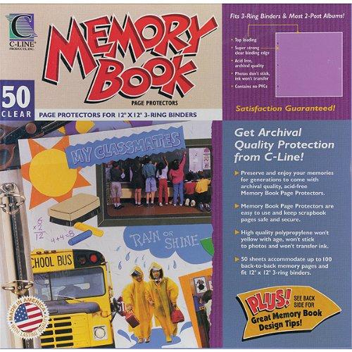Memory Book Top-Load Page Protectors - 50 Ct 1 pcs sku# 632895MA