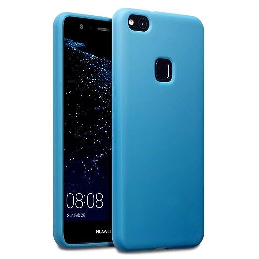 6 opinioni per Terrapin TPU Gel Custodia per Huawei P10 Lite Cover, Colore: Opaco Blu