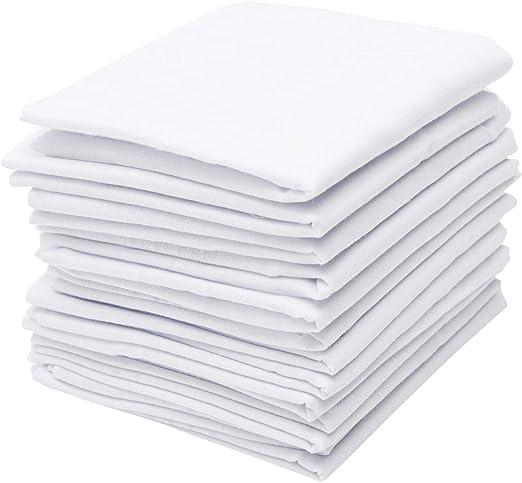 Pierre Cardin - Pañuelo de mano para hombre, 13 de algodón puro ...