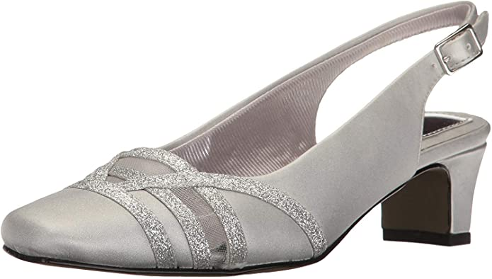 Retro Vintage Style Wide Shoes Easy Street Womens Kristen Dress Pump $51.65 AT vintagedancer.com
