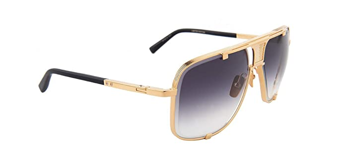 4b20b1a09330 Amazon.com  Dita Mach-Five Limited Edition Sunglasses Yellow Gold ...