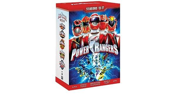 Power Rangers: Season 13-17 [Reino Unido] [DVD]: Amazon.es ...