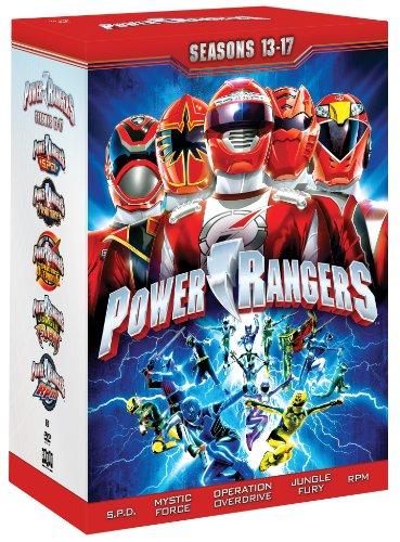 Power Rangers: Seasons 13 -17 - Spd Ranger Videos Power
