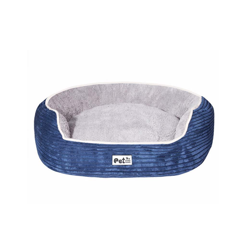 TLTLCWW Lettino per Cani, Rimovibile E Lavabile Scaldaletto per per per Cani di Piccola E Media Taglia Quattro Stagioni Disponibili per Animali Domestici, Multi-Dimensione (colore   Blu, Dimensioni   S.) 6b8a1a