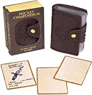 Pocket Compendium: Tome of Recollection | Customizable RPG Item, Spellbook, & Reference Card Holder | Tabletop Fantasy Game