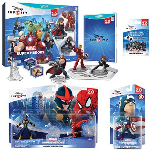 Infinity 2.0 Marvel Value Pack (Wii U) by Disney Interactive Studios