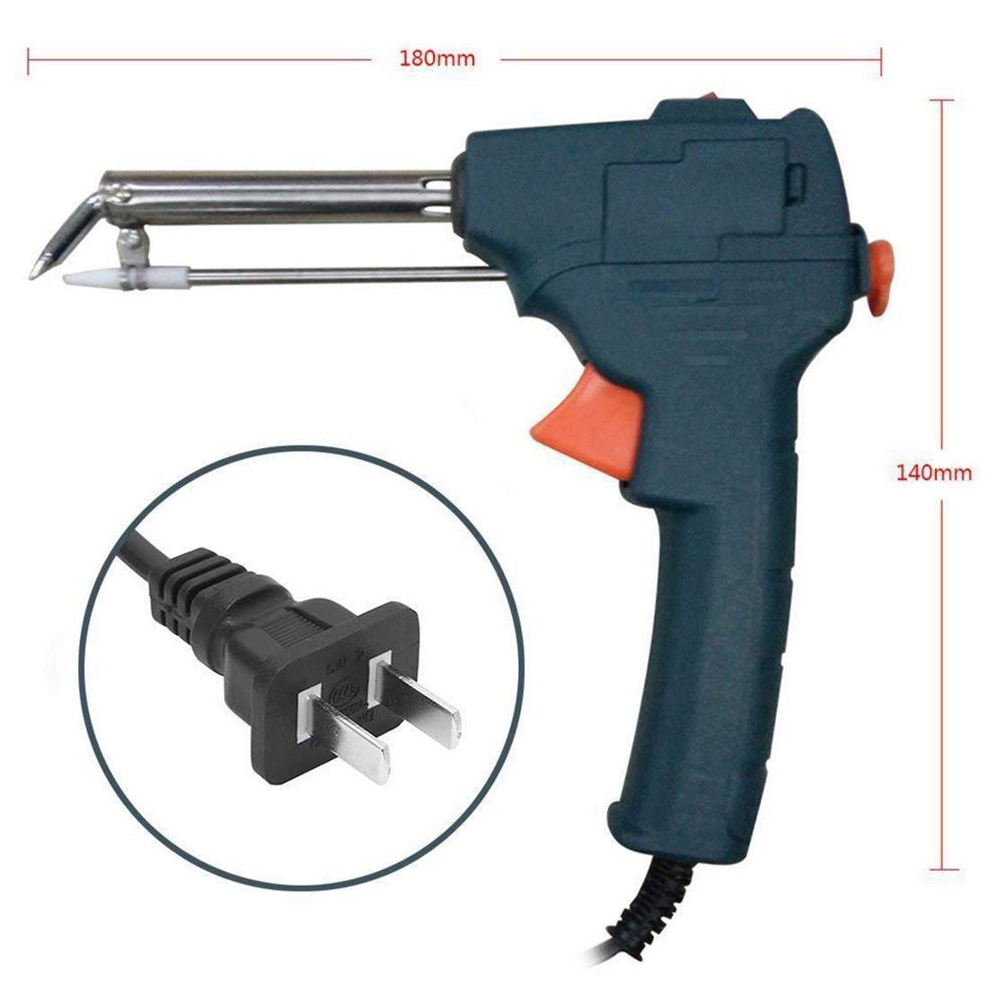Máquina de soldadura automática del hierro eléctrico del arma de soldadura manual 220V 60W: Amazon.es: Bricolaje y herramientas