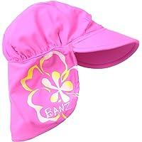Baby Banz 15042 Banz 50+ UV Koruma Flap Güneş Şapkası, Pembe