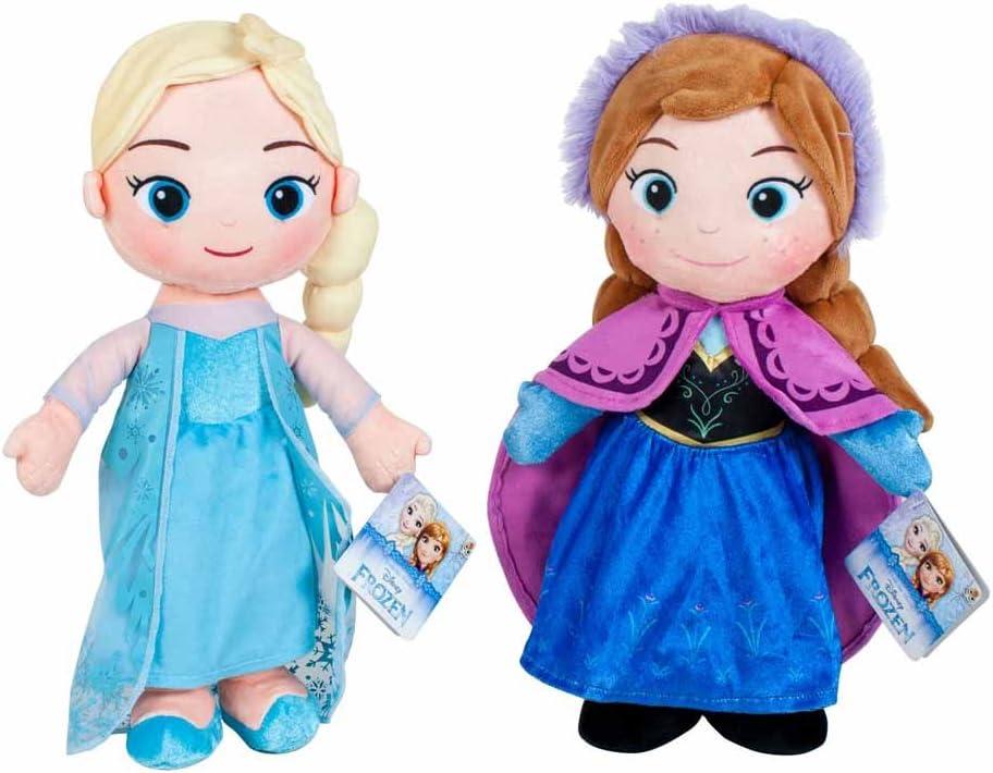 Play by Play - Peluche de la película Frozen - Elsa & Anna 30 cm ...