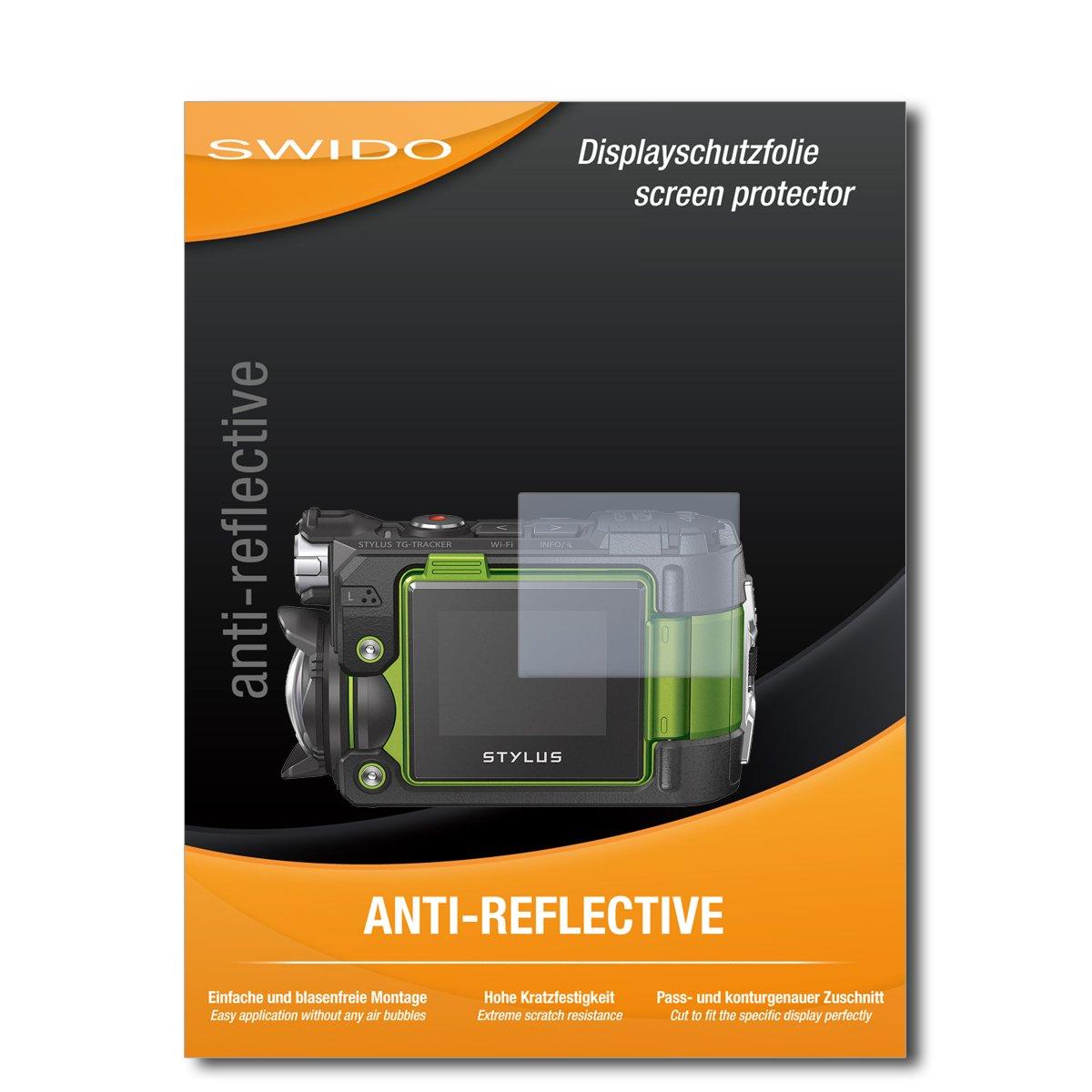 2x Olympus tough tg-6 láminas protectoras de pantalla mate antirreflejos