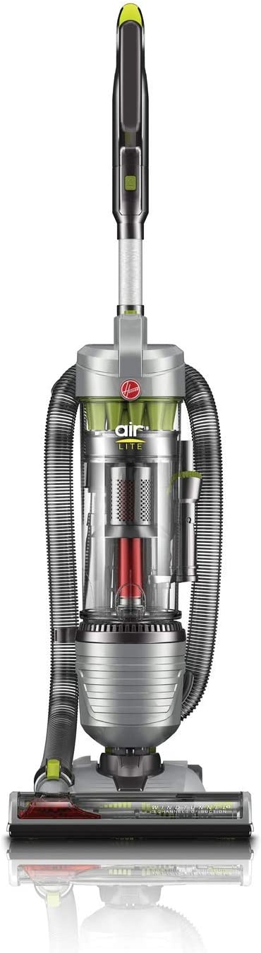 Hoover UH72465 Air Lite Corded Bagless Upright Vacuum Cleaner with 2-in-1 Tool and Extension Wand (Renewed)